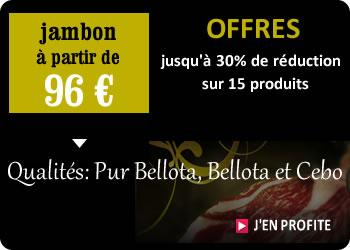 Offres Promos Jambon Ibérique Pata Negra