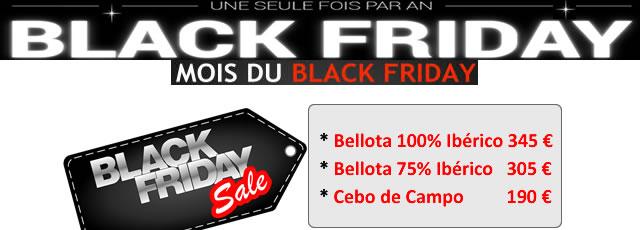 Jambon Pata Negra black friday promo